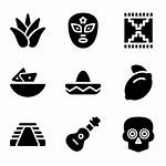 Mexican Mexico Iconos Packs Elements Fill Svg