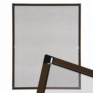 Fliegenschutzgitter Für Fenster : insektenschutz fliegengitter fenster alurahmen alu m ckenschutz braun 120x140cm ebay ~ Eleganceandgraceweddings.com Haus und Dekorationen