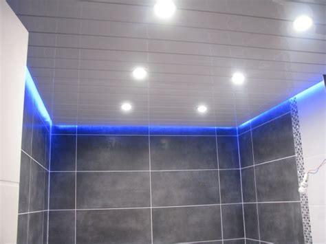 plafond salle de bain hydrofuge photos de faux plafond avec lumi 232 re indirecte groupes