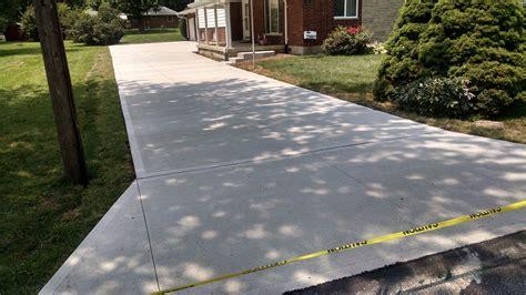 concrete driveway dayton ohio concrete driveway