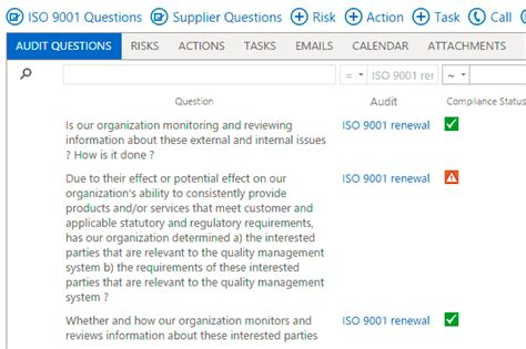 Audit Manager Questions by Iso 9001 Supplier Audit Questions Free Apps