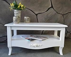 Beistelltisch Weiß Landhaus : couchtisch beistelltisch tisch wohnzimmertisch antik wei ~ Watch28wear.com Haus und Dekorationen