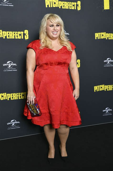 Rebel Wilson At Australian Premiere of Pitch Perfect 3 in ...