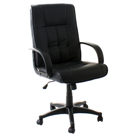 high back luxury executive office chair leather computer
