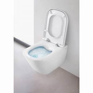 Cuvette Pour Wc Suspendu : cuvette wc suspendu sans bride rimless roca pas cher ~ Melissatoandfro.com Idées de Décoration