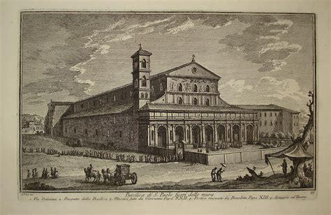 S Paolo Galleria Trincia Giuseppe Vasi Basilica Di San Paolo