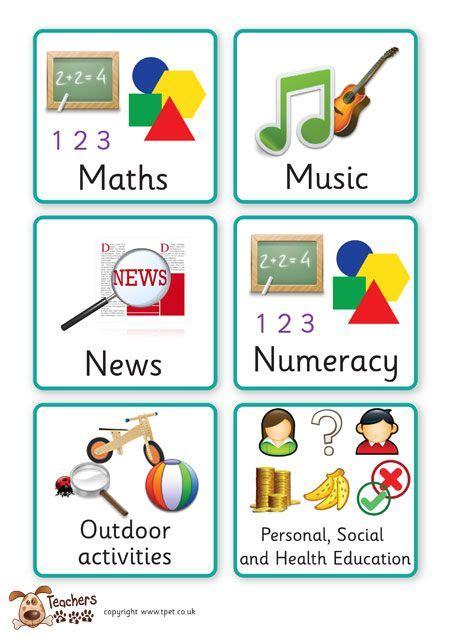 Teacher's Pet Displays » Key Stage One Visual Timetable » Free Downloadable Eyfs, Ks1, Ks2