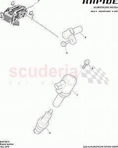Aston Martin Rapide Engine Ignition Parts