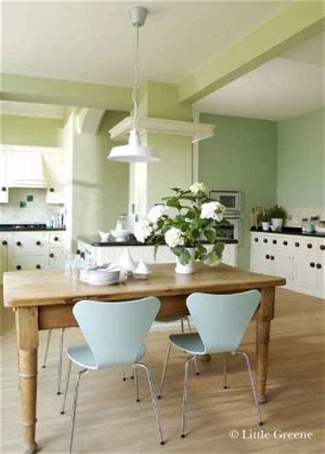 Little Greene Kitchen Green Paint
