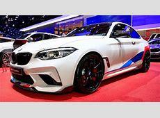 New BMW M2 Competition Wears M Performance Parts For Paris