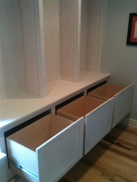 Custom Bookcase and Window Seat Built In Casper and Company