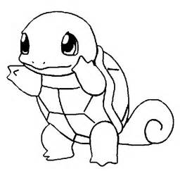pokemon coloring pages easy