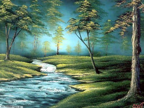 landscape art wallpaper amazing colorful classic