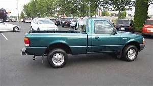 1998 Ford Ranger  Green - Stock  731039