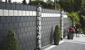Zaunelemente Aus Metall : sichtschutzzaun discreto metall kunststoff waliczek ~ Sanjose-hotels-ca.com Haus und Dekorationen