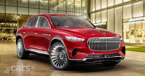 Vision Mercedes Maybach Ultimate Luxury Leaks Cars Uk