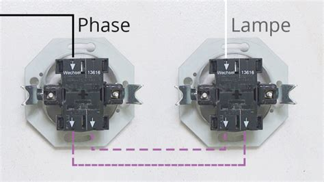 wechselschalter mit steckdose anschließen lichtschalter einbauen lichtschalter einbauen unsere tipps f r sichere montage lichtschalter