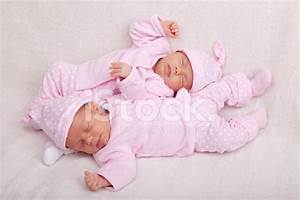 Identical Twin Baby Girls stock photos - FreeImages.com