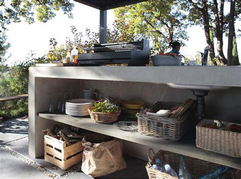 fabriquer cuisine exterieure fabriquer meuble cuisine exterieur