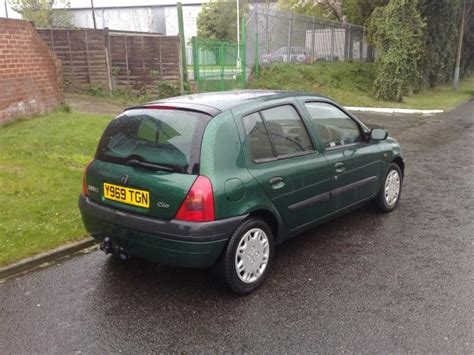 renault green renault clio review and photos