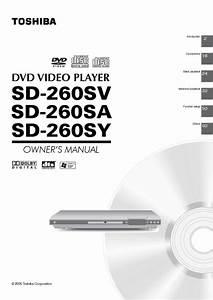 Sd-260sa Manuals