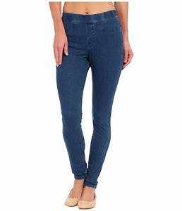 HUE Curvy Fit Jeans Leggings - Zappos.com Free Shipping ...