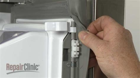 fridge  door latch replacement lg refrigerator repair part jja youtube