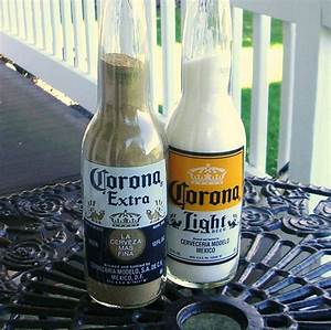 Corona Bottle/ Corona Light & Corona Extra Beer Bottle Salt