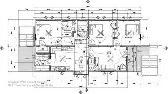 build house plans running around southern live oak