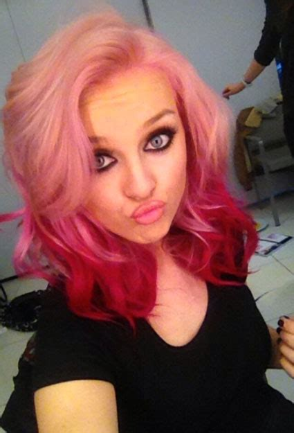 Little Mix Get Brand New Hair Perrie Edwards Rocks A Pink