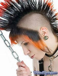 30 Weird & Crazy Hairstyles Photos