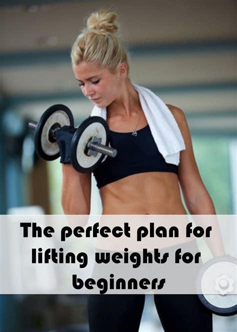 Perfectplanforliftingweightsforbeginners  Workout Mom  Pinterest  En Forma Y Pesas