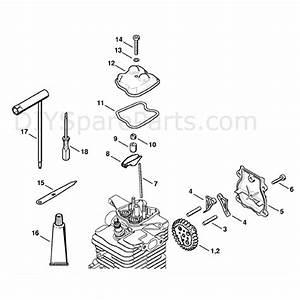 Stihl Br 550 Parts Diagram