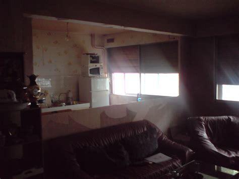 cuisine et salon murs de separation entre cuisine et salon