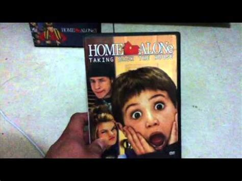 My Four Sequels Of Home Alone Dvd Youtube