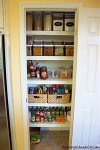 Organize Small Pantry on Pinterest