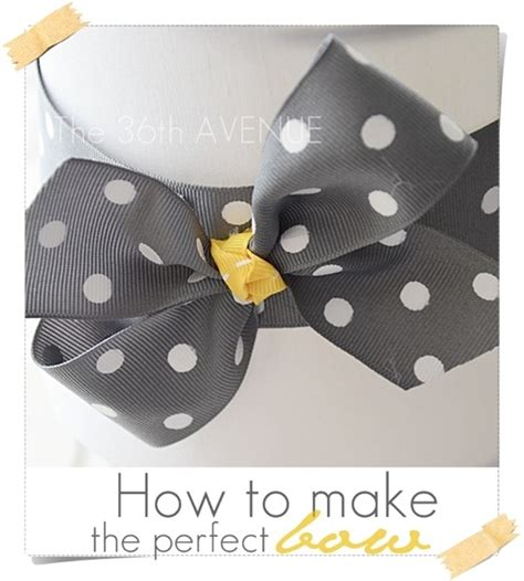 how to make a simple bow the 36th avenue how to make a perfect bow the 36th avenue
