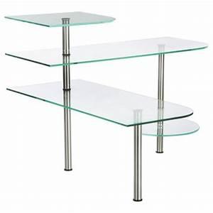Etagere D Angle Cuisine : tag re d 39 angle cuisine en verre 35cm transparent ~ Melissatoandfro.com Idées de Décoration
