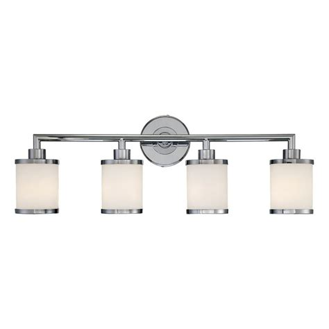 4 bulb vanity light shop millennium lighting 4 light chrome standard bathroom