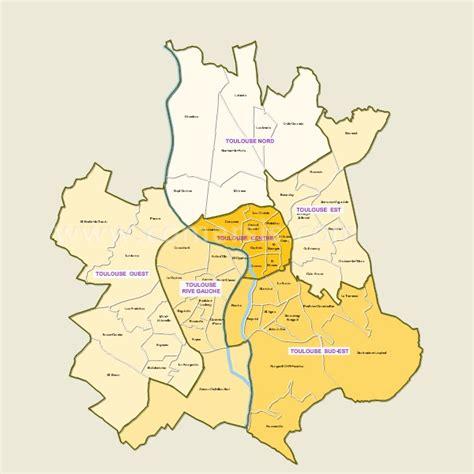 carte quartiers de toulouse