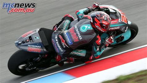 quartararo tops brno motogp test yamaha    mcnews