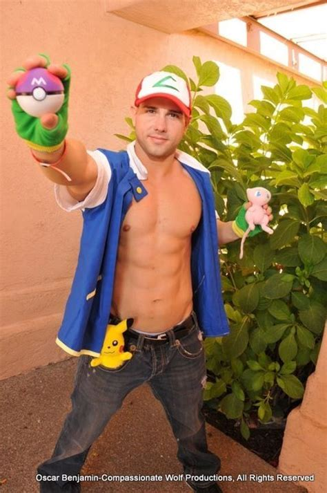 13 hot men in Pokémon cosplay to ruin your childhood