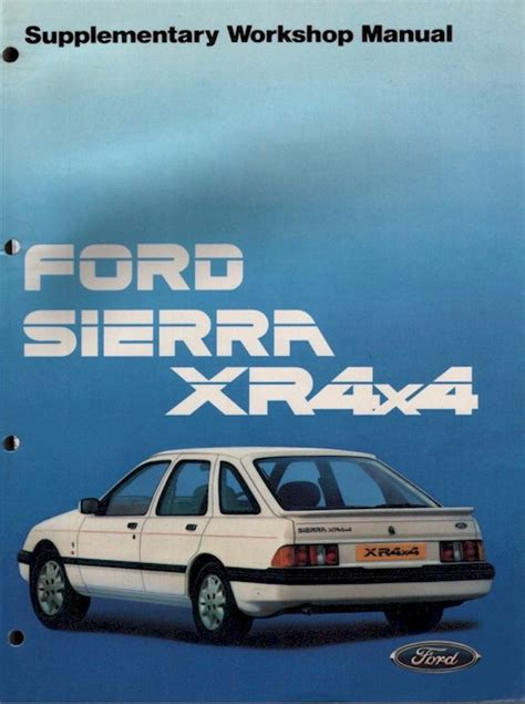 ford sierra  supplement manual