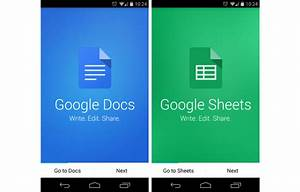 Google Releases Updated Standalone Apps For Docs  Sheets