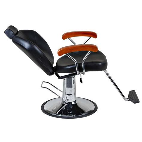 woody reclining barber chair quot woody quot reclining barber salon styling chair base