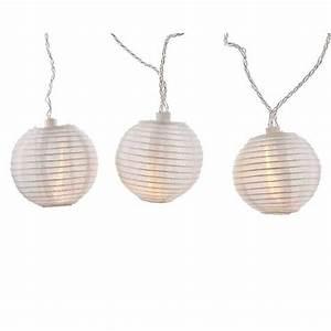 Lampions Mit Led : led batterie lichterkette weisse lampions 20 warmweisse ~ Watch28wear.com Haus und Dekorationen