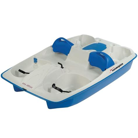Sun Dolphin Paddle Boat by Sun Dolphin Sun Slider 5 Person Pedal Boat 61141 The