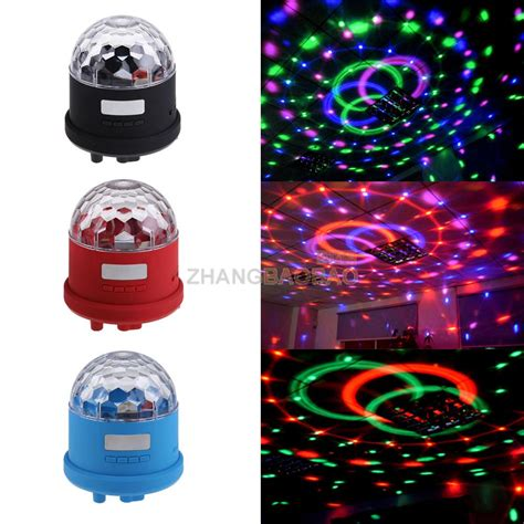 bluetooth led magic ball light music speaker disco ball
