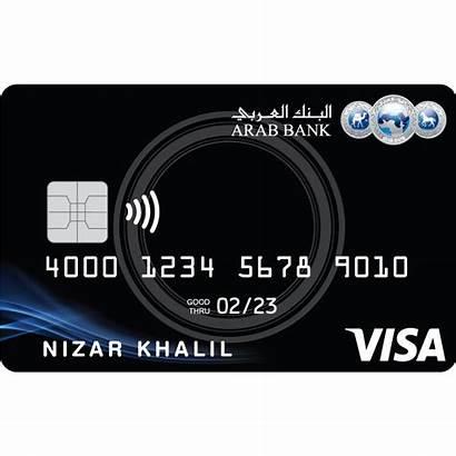 Credit Visa Bank Arab