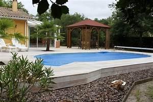 Amenagement Autour Piscine Photos : am nagement autour de la piscine piscine pas cher les ~ Premium-room.com Idées de Décoration
